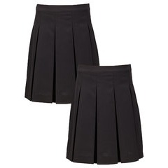 Top Class Girls Pack of 2 Woven Skirts