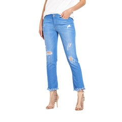 V By Very Extreme Fray Slim Leg Jeans
