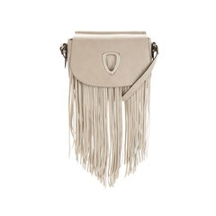 V By Very Circle Detail Fringed Cross Body Handbag