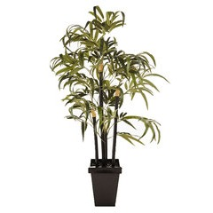 4ft Artificial Bamboo Tree with Pot