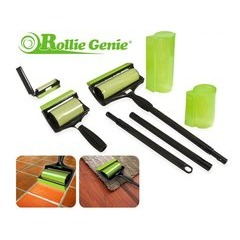 Amazing Reusable Washable Sticky Rollie Genie 3 Piece Roller Set
