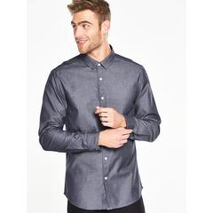 V by Very Long Sleeved Chambray Shirt