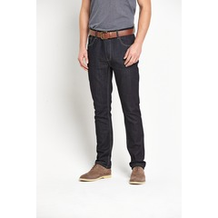 Goodsouls Mens Slim Fit Jeans with Belt