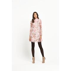 Miss Selfridge Floral Long Sleeve Mini Dress