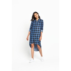 Noisy May Hailey High Low Shirt Dress