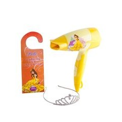 Disney Belle of the Ball Hairdryer Set In Yellow