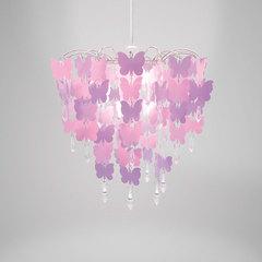 Pink Butterflies Chandelier