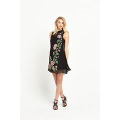 Miss Selfridge Embellished Trapeze Dress