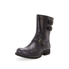 UGG Arthro Buckle Detail Leather Boots