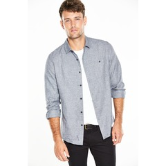 V by Very Long Sleeved Textured Shirt