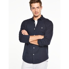 V by Very Long Sleeved Denim Shirt
