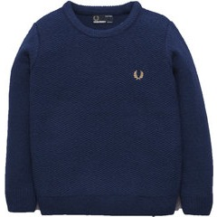 Fred Perry Boys Crew Neck Jumper