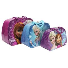 Disney Frozen Set of Three Train Cases