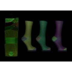 Jennifer Anderton Stripe Trim Pack of 3 Honeycomb Top Socks
