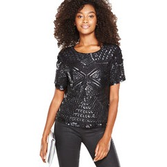 V By Very Embellished Shell Top