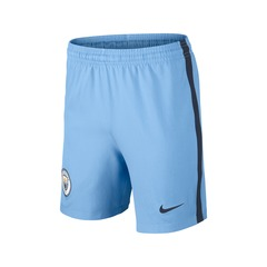 Nike Junior Manchester City FC 2016/17 Home Shorts