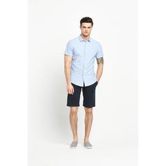 V by Very Short Sleeved Dobby Oxford Shirt