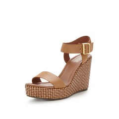 Tommy Hilfiger Lively 26C Leather Wedge Sandals