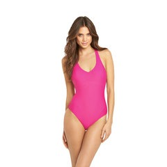V By Very Macrame Back Swimsuit