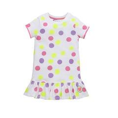 Ladybird Girls Essential Shorts Sleeve Skater Dress