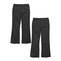 Top Class Girls Pack Of Two Plus Fit Trousers