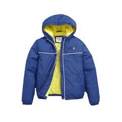 Penguin Hooded Windbreaker Jacket