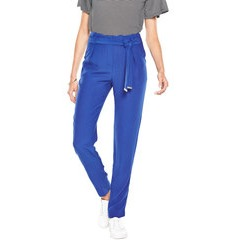 V By Very Tie Waist Tapered Trousers