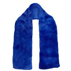 Cobalt Faux Fur Collar
