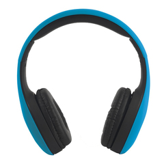 Intempo Folding Over-Ear Headphones (Blue)