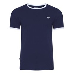 Le Shark Petersham Contrast Trim Ringer T-shirt