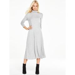V By Very Roll Neck Midi Dress
