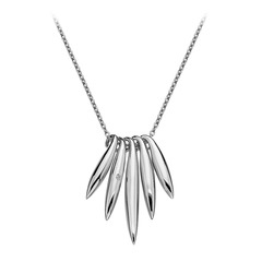 Hot Diamonds Sterling Silver Icicle Pendant