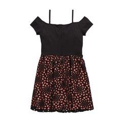 V By Very Bardot Scuba Laser Cut Dress