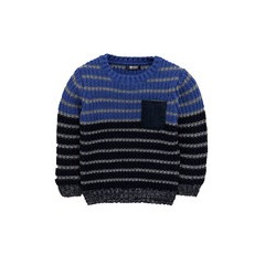 Mini V by Very Boys Stripe Knitted Jumper
