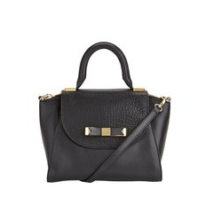 Ted Baker Bow Detail Mini Leather Tote Bag