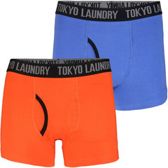 Tokyo Laundry Pack of Two Dunton Boxer Shorts