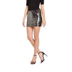 Glamorous Sequin Mini Skirt