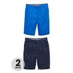 V By Very Pack of 2 Woven Shorts