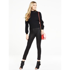 V By Very Blouson Sleeve Crop Rib Jumper
