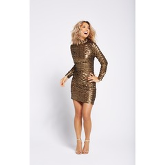Myleene Klass All Over Sequin Shift Dress