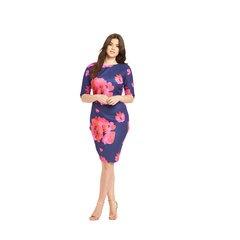 AX Paris Curve Floral Print Bodycon Dress