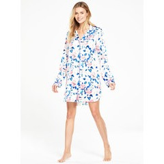 V by Very Florida Blooms Satin Nightshirt