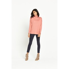 Warehouse Frill Neck Boxy Jumper
