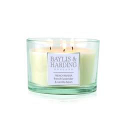 Baylis & Harding French Riviera 3 Wick Candle