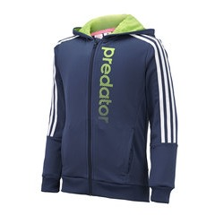 Adidas Junior Boys Predator Full Zip Knitted Hoody