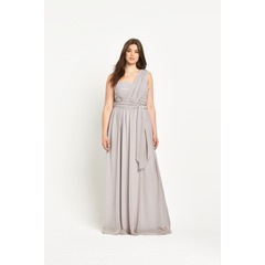 Truly You One Shoulder Maxi Dress