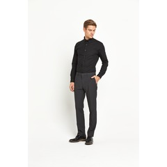 V by Very Long Sleeved Slim CVC Shirt