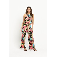 V by Very Petite Tiered Jersey Jumpsuit