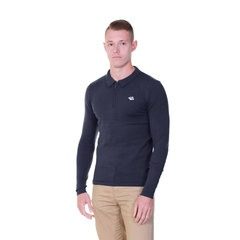Le Shark Morris Long Sleeved Knitted Polo Top