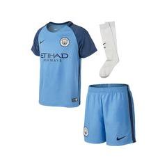 Nike Manchester City FC 2016/17 Little Boys Home Kit